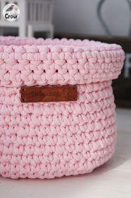 Crochet Baskets ❤ Вязаные Корзинки