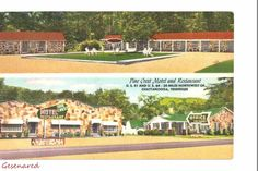 Pine Crest Motel & restaurant cottages highway 41 Chattanooga TN