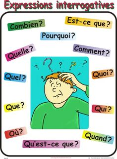 I would use this pin to give students an example of interrogatives in french.                                                                                                                                                                                 Más