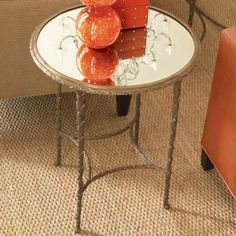 Organic side table by Global Views.