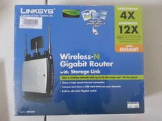 Linksys Wireless-N Gigabit Router with Storage Link (WRT350N)