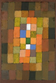Paul Klee, Static DynamicGradation 1923