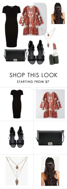 """""""Untitled #8"""" by karlagtz on Polyvore featuring Dorothy Perkins, American Eagle Outfitters and Chanel"""