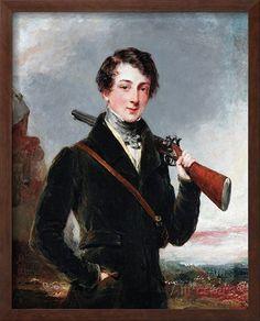 Lord John Manners, Later 7th Duke of Rutland, C.1835 Giclee Print by Margaret Sarah Carpenter
