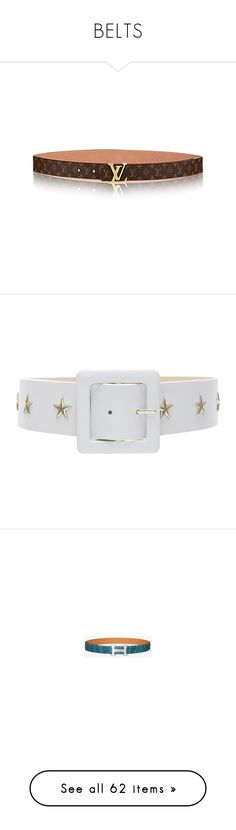 """""""BELTS"""" by jadiior ❤ liked on Polyvore featuring beauty products, beauty accessories, bags & cases, accessories, belts, metal belt, star belt, balmain, chanel and silver"""