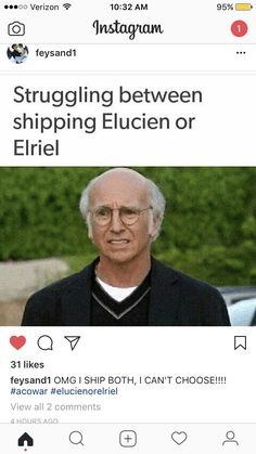 I WANT ELUCIEN! But I also like  elriel T.T I'm content with both but I personally think it would be better to not ignore the mating bond.... because I love Lucien >_<