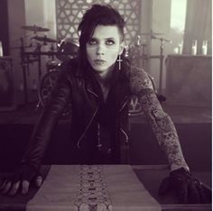 Andy biersack, my parents don't get that he amazing has saved so many lives, they call him scary yet they scare me more then any one