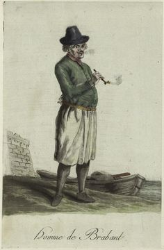 Homme De Brabant. From New York Public Library Digital Collections.