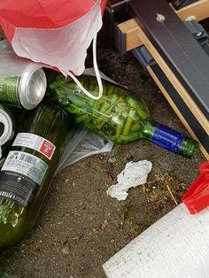 Urgente flessenpost! Foto: Ria Van de Laak