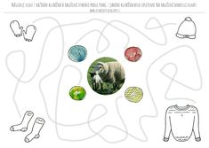 Pracovní list pro mladší školní věk, grafomotorický list barvy, jaro, ovce, vlna. Nasa, Crafts For Kids, Activities, Crafts For Children, Easy Kids Crafts, Kid Crafts, Crafts Toddlers, Craft Kids, Kid Activities