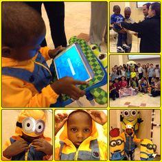 Jean Paul, 3 añitos, Leucemia Linfoblástica Aguda, fanático de los Minions, su deseo era una tablet.  Gracias a Kol Shearith Israel y sus alumnos de Talmud Tora 2015 #DeseoCumplido