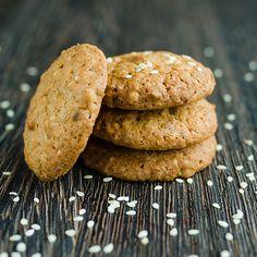 Gosomi - Biscuits aux graines de sésame | Bio c' Bon #recette #biocbon #Gosomi