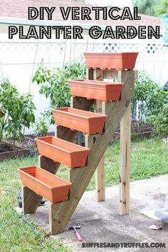 * Decoração e Invenção *: Jardim Vertical - DIY