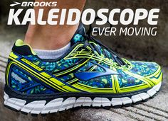 Visit your local SCHEELS store to try out a pair of the new Brooks Kaleidoscope running shoes. Available only for a limited time. #RUNHAPPY