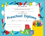 New! Preschool Diploma just in time for the end of the ‪#‎school‬ year!