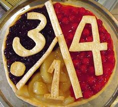 Fruit Pizza for PI Day!