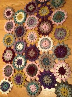 Crochetcarpet for my livingroom
