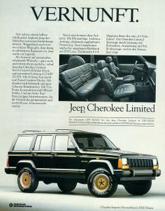 1989 Jeep Limited 4X4 SUV Cherolee | Flickr - Photo Sharing!