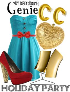 Genie semi-formal girl's outfit - Aladdin