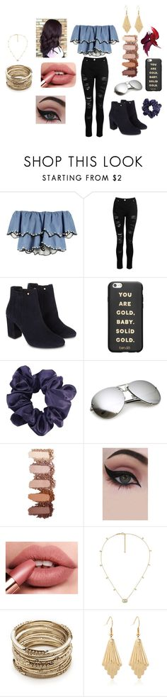 """Simple Date Night"" by wattsinn on Polyvore featuring HUISHAN ZHANG, Dorothy Perkins, Monsoon, ban.do, Concrete Minerals, Gucci and Sole Society"