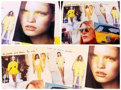 Tendances PE14, Osez le jaune poussin ! yellow trend, fashionweek  www.mode-estah.fr
