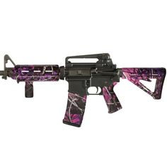 Matrix Diversified Industry AR-15 Magpul Furniture Kit Commercial Polymer Muddy Girl Camo Finish MAGCOM09MG