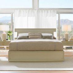 STANLEY CRESTAIRE KING SIZE 4-PIECE BEDROOM SET - SOUTHRIDGE KING BED PLUS…