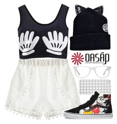 Everyone has a child inside | Oasap.com by alexandra-provenzano on Polyvore featuring moda, Muse and Vans