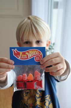 Free Hotwheels printable!Cute Tag Idea possibly for Hot Wheel Birthday
