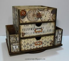 Foam Board Projects | Cassie's Scraps: Beyond The Page Project | Altered projects | Pintere ...