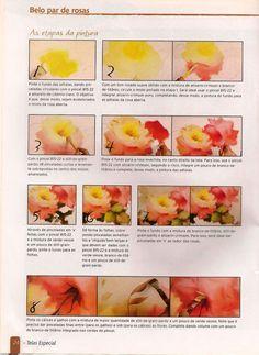 Par de Rosas tutorial 3