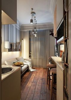 There are a number of practical methods of finding studio apartment design solutions, that will get the job done for your apartment. Today, more and increasing numbers of people are residing in smallish apartments with limited space, because they are simple to clean and maintain. You may want to hav