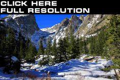 Parks Rocky Mountain National Park, Colorado Nature