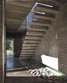 #Staircase in Torcuato #House in #Argentina designed by BAK #Arquitectos / Photo by Inés Tanoira #d_signers