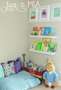 Rincones de lectura. Para saber mucho más sobre bienestar y salud infantil visita www.solerplanet.com