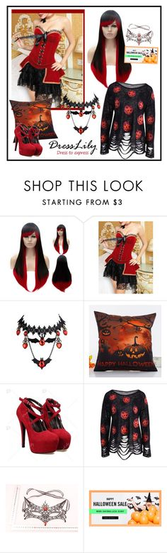 """""""Halloween 2016"""" by carola-corana ❤ liked on Polyvore featuring Masquerade"""