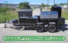 bbq smokers | Pitmaker in Houston, Texas. (800) 299-9005 (281) 359-7487