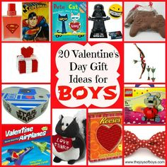 20 Valentine's Day Gifts for Boys - The Joys of Boys