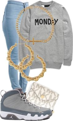 """this outfit hard Idc Idc ."" by morganlovessyouuu ❤ liked on Polyvore"