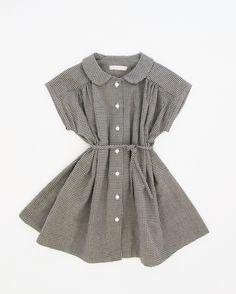Image of prairie dress- gingham