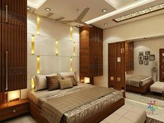 Kumar Interior - one Stop Home Interior Solution Specialized in Residential Interiors Best interior designers firm in Thane & Mumbai. for more details call kumar interior 998775900 Modern Luxury Bedroom, Luxury Bedroom Design, Room Design Bedroom, Bedroom Furniture Design, Home Room Design, Luxurious Bedrooms, Interior Design, Ceiling Design Living Room, Bedroom False Ceiling Design