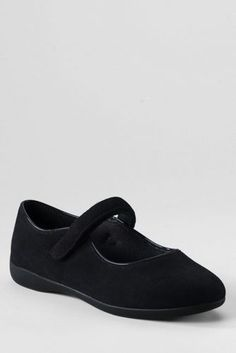 School Uniform Girls' Unit Bottom Mary Jane Shoes from Lands' End