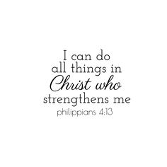 Philippians 4:13 #bibleverse #quote #inspiration