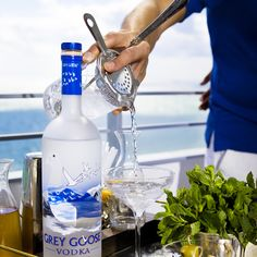 Summer, stocked and loaded. Urban Daddy and Grey Goose partner to brings you tips on setting up your party minibar.