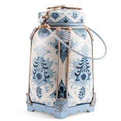 Decorative Blue and White Rice Pot | Furbish Studio