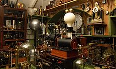 Science! (Balakov) Tags: museum victorian machine science machinery whitby electricity brass steampunk glaisdale mechanisms wimshurst
