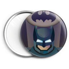 Espejo de bolsillo del superheroe de comic Batman en Camaloon.