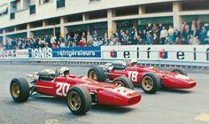 Amon  & Bandini  Ferrari 312, 1967 #Monaco Grand Prix.
