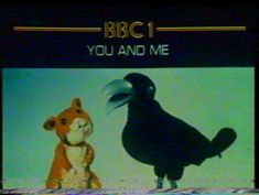 Alice and Crow 💕 'Hello Crow' 1970s Childhood, My Childhood Memories, Vintage School, Kids Tv, Retro Toys, My Memory, Old Toys, The Good Old Days, Growing Up