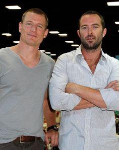 Sullivan Stapleton and Philip Winchester at event of Strike Back (2010)